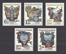 TCHECOSLOVAQUIE Tschechoslowakei Czechoslovakia 1974 MNH **Mi 2189-2194 Sc 1931-1935 Hydrological Decade - UNESCO