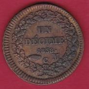 Monaco - Honoré V - Un Décime 1838 MC - SUP - 1819-1922 Honoré V, Charles III, Albert I