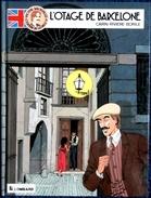 Carin - Rivière - Borile - Victor Sackville - Tome 6 - L'otage De Barcelone - Éditions Du Lombard - ( E.O. 1991 ) . - Victor Sackville