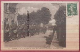 58 - COSNE--Le 85° De Ligne Au Retour Des Manoeuvres Du Centre-Septembre 1908--Soldats--animé - Cosne Cours Sur Loire
