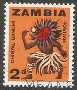 Zambia. 1964 Definitives. 2d Used. SG 96 - Zambia (1965-...)