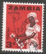 Zambia. 1964 Definitives. 3d Used. SG 97 - Zambia (1965-...)