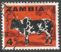 Zambia. 1964 Definitives. 4d Used. SG 98 - Zambia (1965-...)