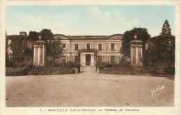 MARCELLUS - CHATEAU DE MARCELLUS - Autres Communes