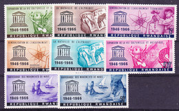 Rwanda 1966 Unesco 8w ** Mnh (35657) - Rwanda