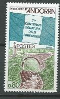 Andorre Français - Yvert N° 268 **   Bce4111