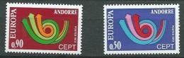 Andorre Français - Europa  Yvert N° 226 / 227 **   Bce4114