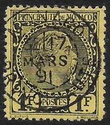 Monaco - Prince Charles III - N° 9 Oblitéré. - Monaco