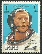 Qatar - 1969 Apollo 11 Armstrong 1d MH    Sc  190 - Qatar