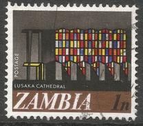 Zambia. 1968 Decimal Currency. 1n Used. SG 129 - Zambia (1965-...)