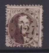 N° 14 A LP 127  FLERON - 1863-1864 Medallones (13/16)