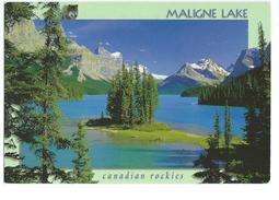 Maligne Lake Canadian Rockies - Cartes Modernes