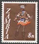 Zambia. 1968 Decimal Currency. 8n Used. SG 133 - Zambia (1965-...)