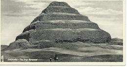 Sakkara The Step Pyramid - Pyramides