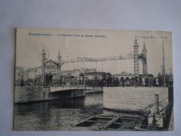 Bruxelles Laeken // Nouveau Pont Au Bassin Maritime Avec Tram // Used 19?? Adres Rough Remouved - Laeken