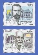 FRANCE 4798 + 4799 NEUFS ** ALEXANDRE YERSIN - France