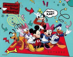 Poland - 2013 - Magic World Of Disney - Mint Imperforated Souvenir Sheet - 1944-.... Republik