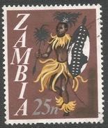 Zambia. 1968 Decimal Currency. 25n Used. SG 137 - Zambia (1965-...)