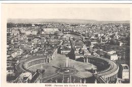 POSTAL   ROMA  -ITALIA  - PANORAMA DE LA CÚPULA DE SAN PEDRO ( PANORAMA DALLA CUPOLA DI ST. PIETRO ) - Altri
