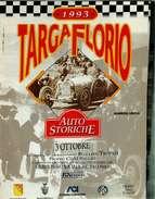 X TARGA FLORIO AUTOSTORICHE 93 TABELLA DEI TEMPI E DELLE DISTANZE - Automobilismo - F1