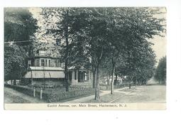 Euclid Avenue Cor. Main Street Hackensack N.J. 1911 - Etats-Unis
