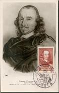 Carte Maximum -  Pierre Corneille 1606 - 1684 - Cartes-Maximum