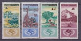 Rwanda 1965 Internationale Samenwerking 4w ** Mnh (35658) - Rwanda