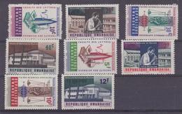 Rwanda 1965 Nationale Universiteit Van Rwanda 8w ** Mnh (35658A) - Rwanda