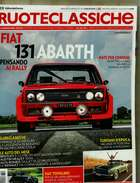 X RUOTECLASSICHE 331 FIAT 131 ABARTH FIAT TOPOLINO BENTLEY 3,5 LITRE SPORTS SALOON - Motori