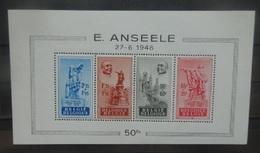 BELGIE  1948    Blok  26  'Anseele'      Postfris **     CW  220,00