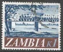 Zambia. 1968 Decimal Currency. 1k Used. SG 139 - Zambia (1965-...)