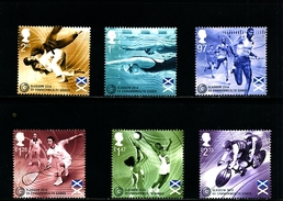 GREAT BRITAIN - 2014  COMMONWEALTH GAMES  SET  MINT NH - 1952-.... (Elisabetta II)