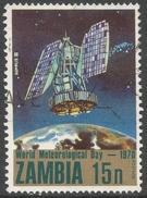 Zambia. 1970 World Meteorological Day. 15n Used. SG 151 - Zambia (1965-...)