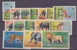 Burundi 1964 Dieren15w Ongetand ** Mnh (gom Niet Altijd Perfect, Zie Scan) (35659) - 1962-69: Ongebruikt
