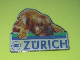 PINS 16 - DOG, HUND, CHIEN, ZURICH - Animaux