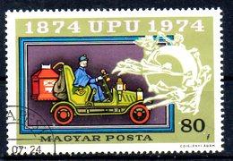 HONGRIE. N°2367 De 1974 Oblitéré. UPU/Fourgon Postal.