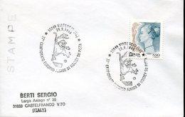 21620 Italia, Special Postmark 1998 Viareggio European Roller Rink Hockey Champ.