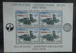 BELGIE  1957      Blok 31   ' Zuidpoolexpeditie '      Postfris **     CW  180,00
