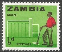 Zambia. 1964 Definitives. ½d MH. SG 94 - Zambia (1965-...)