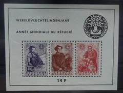 BELGIE  1960      Blok 32   ' Vluchtelingen '      Postfris **     CW  85,00