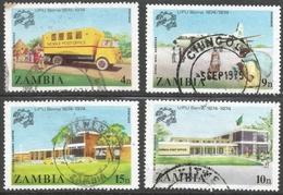 Zambia. 1974 Centenary Of UPU. Used Complete Set. SG 118-119 - Zambia (1965-...)