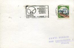 21624 Italia, Special Postmark 1988  Padova Slogan, Woman Field Hockey Champ. (cup Of Nations)