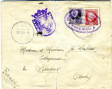 1936 RARAS MARCAS DE AGRUPACION IZQUIERDA REPUBLICANA Y AUNTAMIENTO DE FONZ  Ref EL585 - 1931-Hoy: 2ª República - ... Juan Carlos I