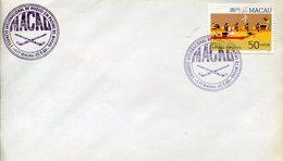 21628 Macau, Special  Postmark 1988 , Macau, International Turnier Field Roller Rink Hockey