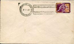21629 India, Special  Postmark New Delhi 1968 , Women's Asian  Field Roller Rink Hockey Champ.