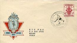 21630  Australia Special  Postmark  Olympic Postmark Olympic Parc, Roller Rink Hockey