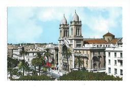Tunis Avenue Habib-Bourguiba Et La Cathédrale - Tunisie