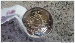 """2 Euro Commémorative BELGIQUE 2012 Les """"10 Ans De L' Euro Fiduciaire"""" - Belgique"""