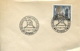 21631 Spain, Special Postmark 1976 Oviero. World Roller Rink Hockey Champ.