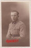 CARTE PHOTO / Militaire / N° 28 Sur Le Col / L. Pénin Ou Ténin, METZ - Photographie